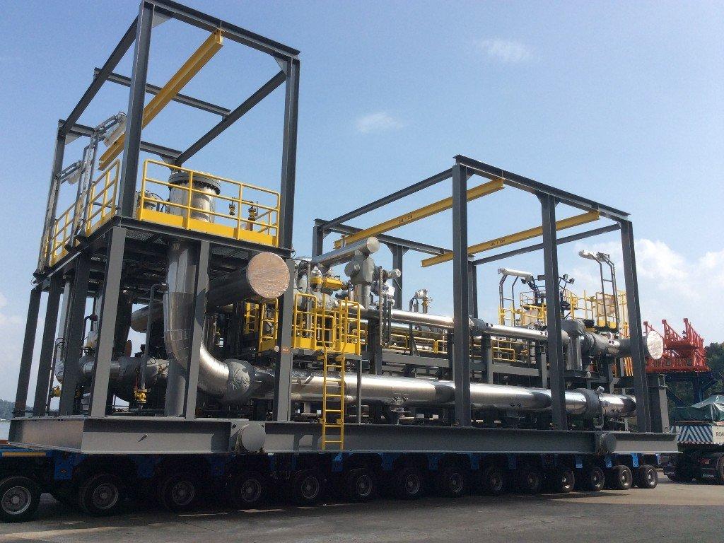 Crude Oil Metering Skid (LACT)