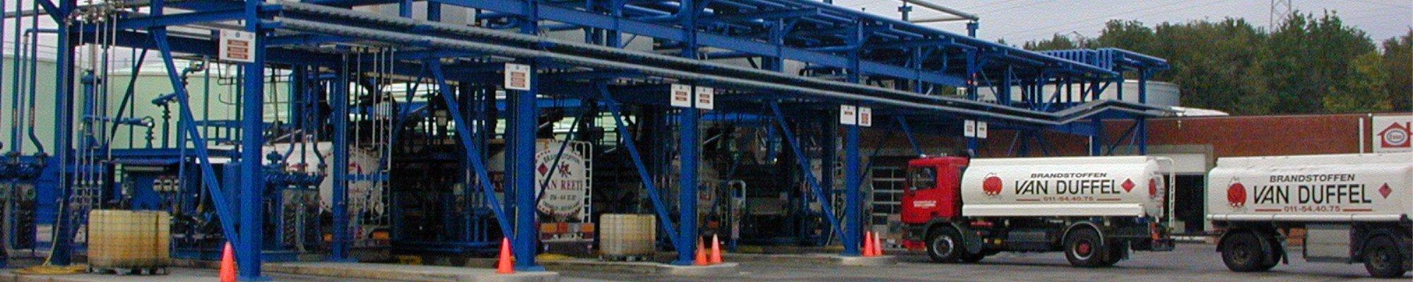 Kalibratie brandstofdepot flowmeters - Header ODS web page