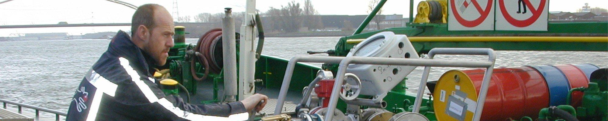 Kalibratie scheepvaart - ODS web page header