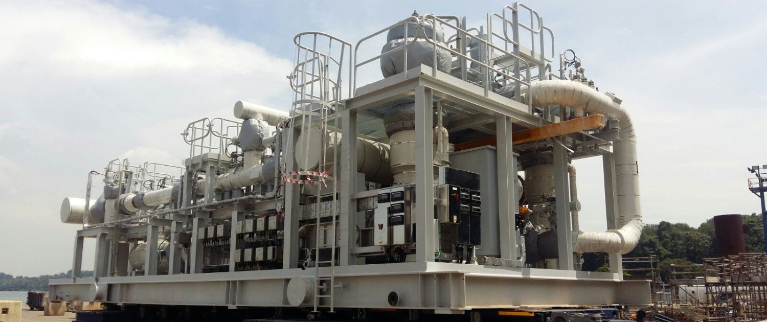 Crude Oil Metering Skid