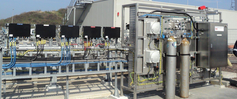 gas metering skid