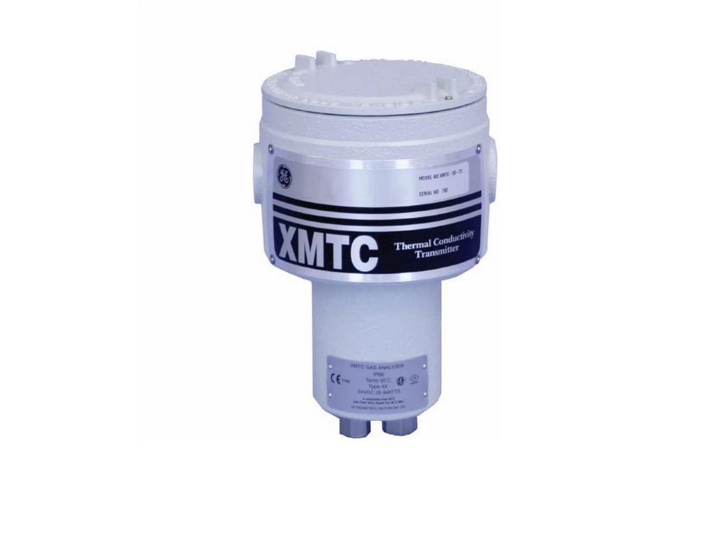 GE XMTC zuurstof analyser. Werkingsprincipe: Thermische geleidbaarheid
