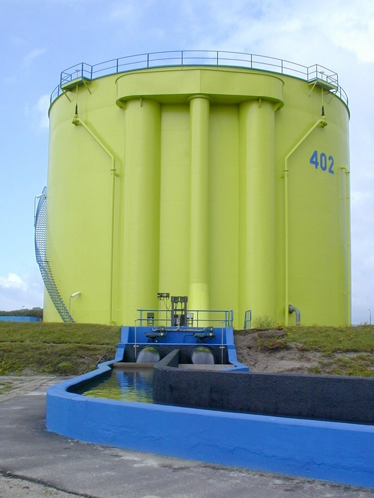 Leakwise tank farm applicatie door ODS