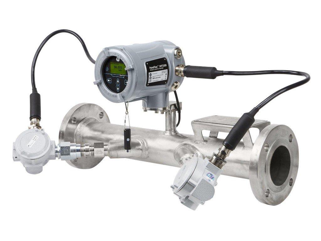 GE ultrasoon meter met XMT1000 transmitter