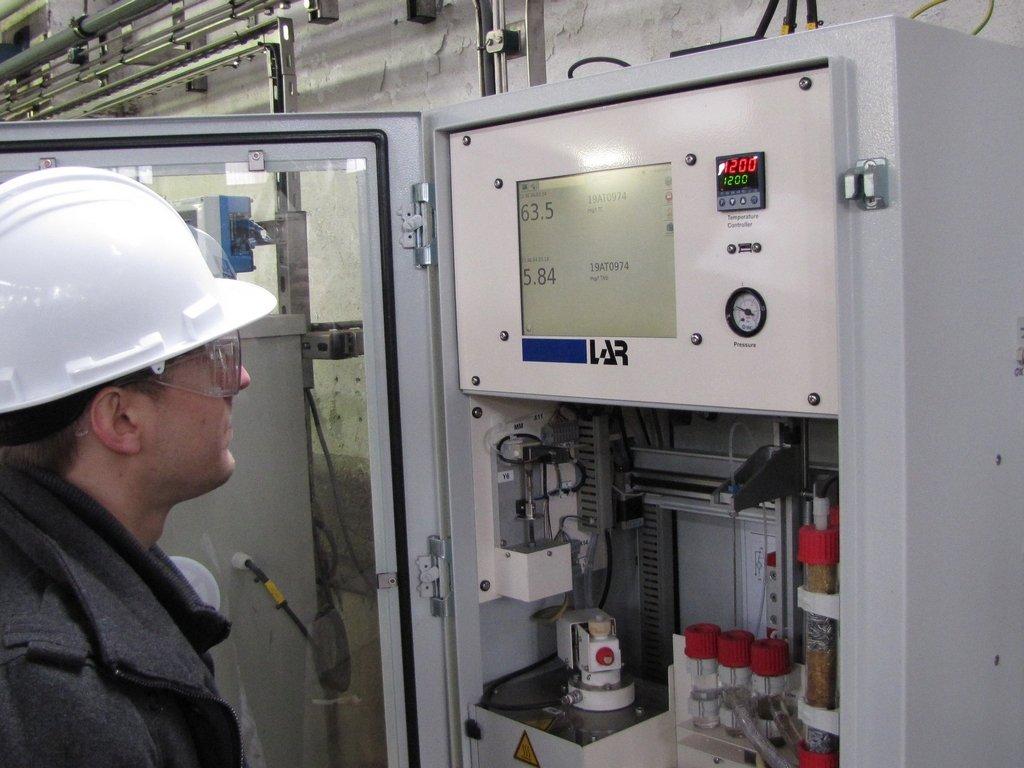 ODS levert LAR analysers. Deze is voor bewaking van afvalwater op opgeloste koolwaterstoffen.