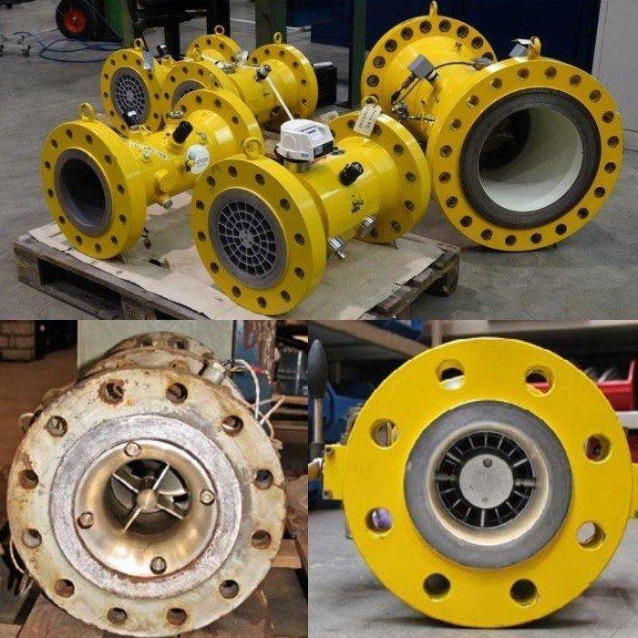 Elster Instrumet gas turbinemeters bij ODS Barendrecht