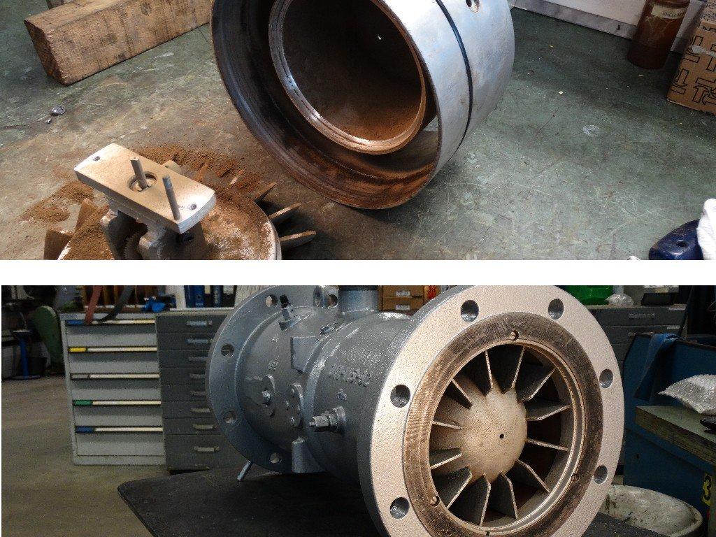 ODS servicedienst repareert en reviseert flowmeters