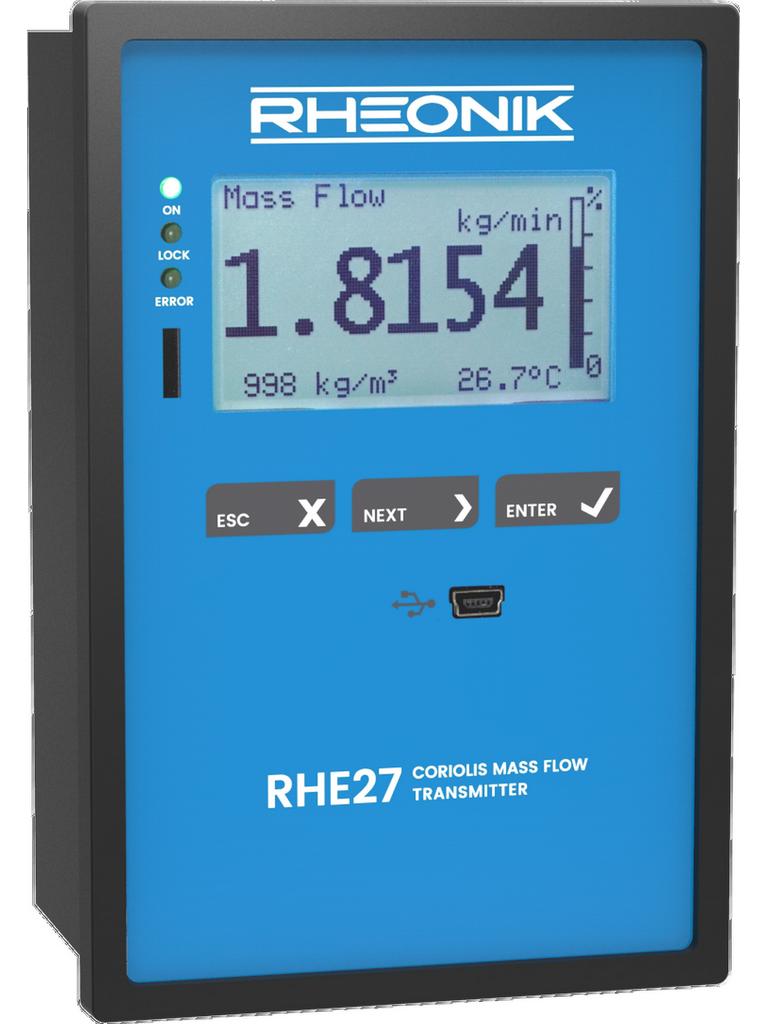 Rheonik RHE 27 transmitter