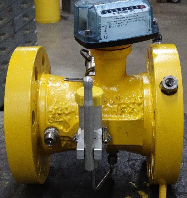 Itron turbine meter
