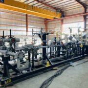 Diesel metering skid